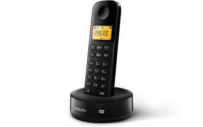 Philips - Philips D1651B/01 Kablosuz Dect Telsiz Telefon Siyah