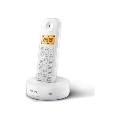 Philips - Philips D1651W/01 Kablosuz Dect Telsiz Telefon Beyaz