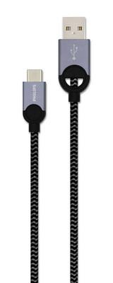 Philips - Philips DLC2628T/97 USB C - Örme Şarj & Data Kablo