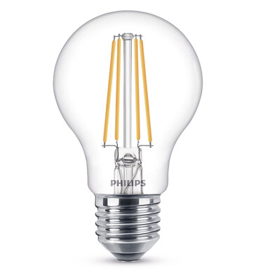 Philips - Philips LED Classic 60W A60 E27 2700K Sarı Işık Dim Edilmez LED Filament Ampul