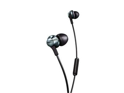 Philips - Philips PRO6105BK/00 Kulakiçi Mikrofonlu Mıknatıslı Kulaklık Siyah