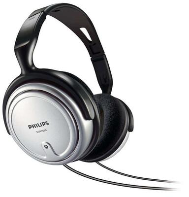 Philips - Philips SHP2500/10 Kulaküstü Kulaklık 6Mt Kablo ve Tv kulaklığı