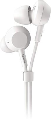 Philips - Philips TAE4105WT/00 Pure Bass Kablolu Mikrofonlu Kulak Içi Kulaklık Beyaz