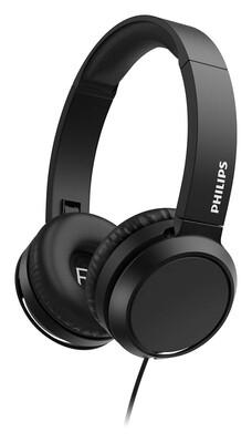 Philips - Philips TAH4105BK/00 Kablolu Kulak Üstü Kulaklık Siyah