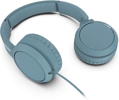 Philips - Philips TAH4105BL/00 Kablolu Kulak Üstü Kulaklık Siyah