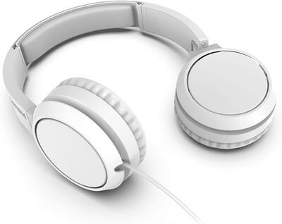 Philips - Philips TAH4105WT/00 Kablolu Kulak Üstü Kulaklık Siyah