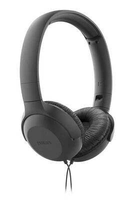 Philips - Philips TAUH201BK/00 Mikrofonlu Kafa Bantlı Kulaklık Siyah