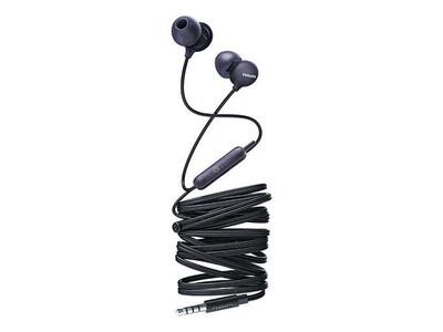 Philips - Philips Upbeat SHE2405BK/00 Kulakiçi Mikrofonlu Kulaklık Siyah